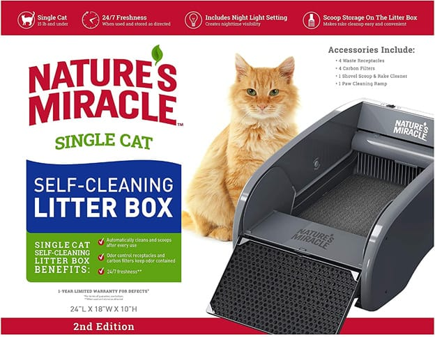 Nature's Guide Self Cleaning Litter Box