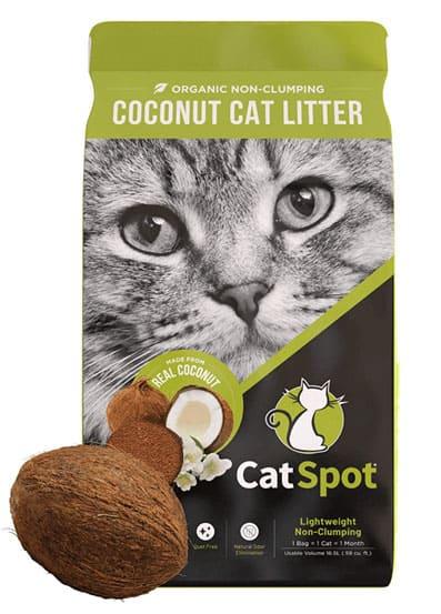 1. CatSpot Clumping Litter
