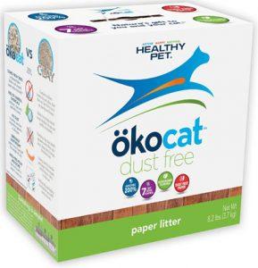Okocat Natural Paper, Dust Free Cat Litter